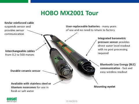 Webinar: Simplify Data Collection with New HOBO Bluetooth Water Level Logger