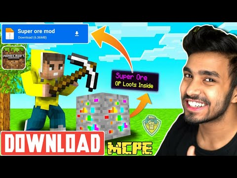 Download Super Ores Mod For Minecraft Pe | How To Download Super Ore Mod In Minecraft | 1.17 | UG Adventure |