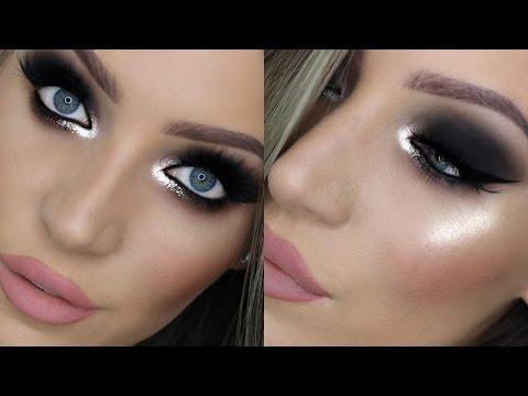 NYE Glam Makeup Tutorial for Hooded Eyes! | STEPHANIE LANGE
