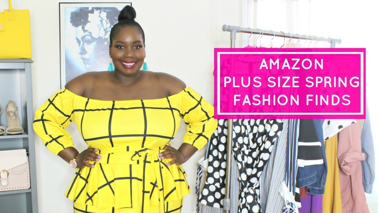 23f8d06ddea66 Plus Size Amazon Spring Fashion Finds - YouTube