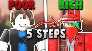 POOR to RICH! (ROBLOX 5 Steps To Get RICH!!!) - Linkmon99's Guide To ROBLOX RICHES #5