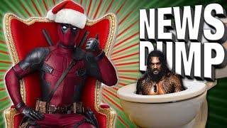 Secret Surprise DEADPOOL Christmas Movie?! - News Dump