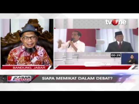 Dialog tvOne: Siapa Memikat Dalam Debat; Jokowi atau Prabowo?