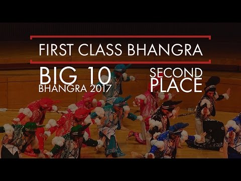 First Class Bhangra – Second Place – Big 10 Bhangra 2017