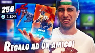 SHOPPO THE SKIN AD A MIO AMICO! Fortnite Battle Royale ITA!