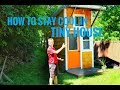 HOW TO KEEP COOL IN A TINY HOME//HOMEMADE A/C