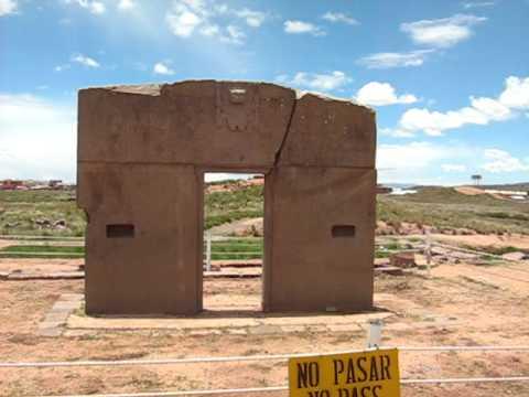 Tiahuanaco en la puerta del sol avi youtube for La puerta del sol