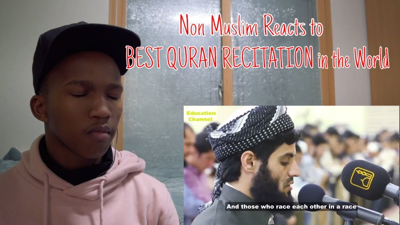 Non Muslim React to BEST QURAN RECITATION in the World Emotional Heart Soothing by Mohammad al Kurdi