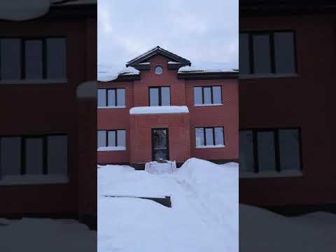 Обзор дома с гаражом 280м2. д. Ляхово, Балахнинский район, Нижегородская область
