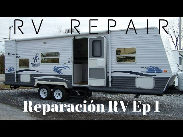 RV Repair// Reparación RV/ Rotten wood/ Madera Podrida