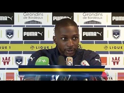 Conf' de presse de Younousse Sankharé avant Bordeaux - Lyon