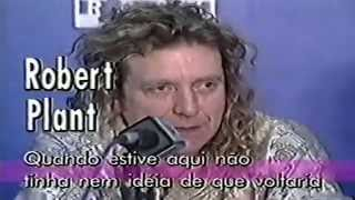 Robert Plant & Jimmy Page - Interview - MTV Brazil - Jan.1996