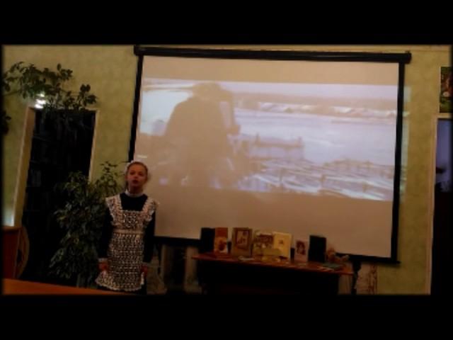 Изображение предпросмотра прочтения – АнастасияСавицкая читает произведение «Песнь о собаке» С.А.Есенина