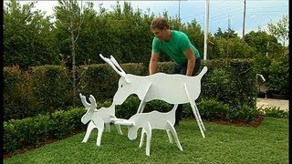 Better Homes And Gardens - Diy: Slotted Reindeer