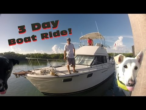 Three Day Boat Ride: Part One