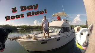 Video Three Day Boat Ride: Part One download MP3, 3GP, MP4, WEBM, AVI, FLV Juni 2017