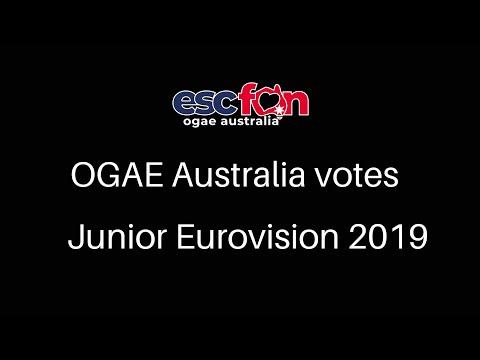 OGAE Australia Votes - Junior Eurovision 2019