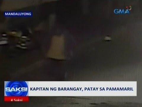 Saksi: Kapitan ng barangay, patay sa pamamaril