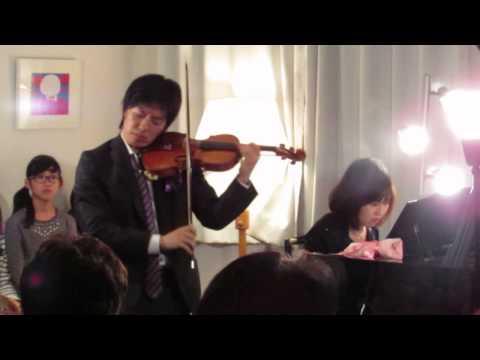 Massenet / Meditation de Thais タイスの瞑想曲 violin 三上亮