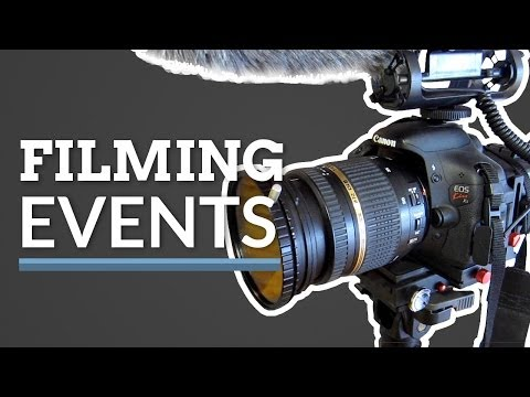How to Shoot an Event - Gear and Tips