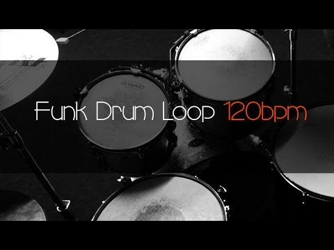 FUNK Drum Loop Practice Tool 120bpm