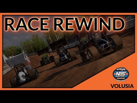 World of Outlaws NOS Energy Drink World Championship | Race 1 - Volusia | Race Rewind