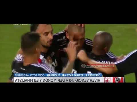 River Plate vs Deportivo Moron (3-0) Copa Argentina 2017 - Resumen Extendido