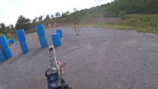 9-29-18 Smith & Wesson M&P 15/22 - Kryptek Highlander Shooting Drills #3