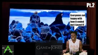 Game of Thrones Season 8 Episode 6 w/Leslie Jones pt.2 (Finale Tweets) Try Not To Laugh Challenge