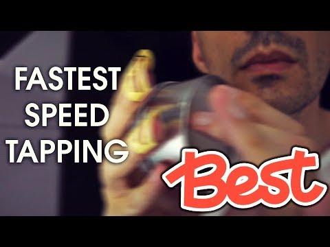 ASMR World's Fastest Speed Tapping (No Talking)