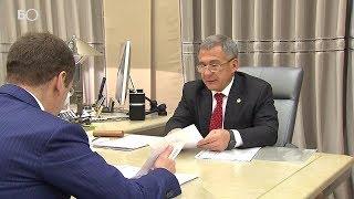 Минниханов доложил Медведеву о текущей ситуации в Татарстане
