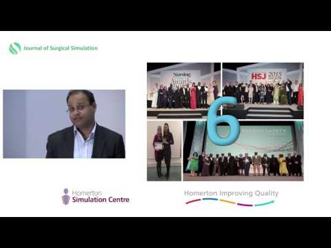 Building an improvement system and movement Trust-wide - Amar Shah, Homerton Simulation 2016