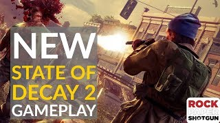 State of Decay 2 PC Gameplay | 19 Minutes Of Blood Plague And Zombie Sieges