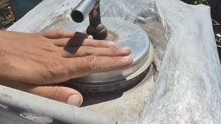 Стройка и Как быстро нагреть воду в летнем душе