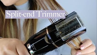 Split End Trimmer | Scariest Device Eva!!! thumbnail