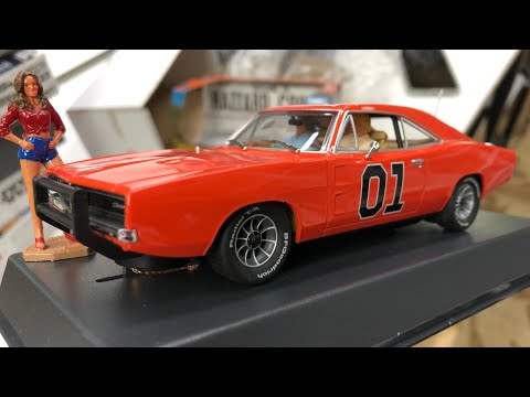 GENERAL LEE DUKES OF HAZZARD Pioneer Slot Car Unboxing