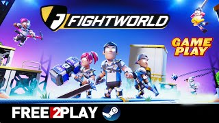 Fightworld ★ Gameplay ★ PC Steam [ Free to Play ] online multiplayer game 2020 ★ Ultra HD 1080p60FPS