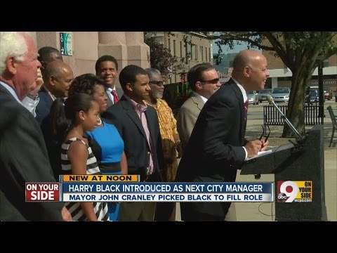 New city manager nominee arrives in Cincinnati