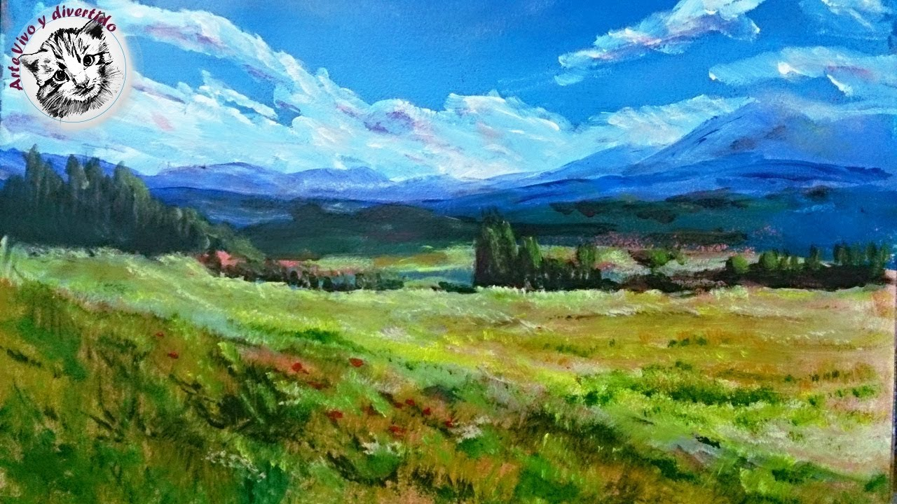 How To Paint Landscapes In Acrylic Pdf