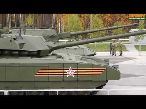 T-14 Armata Russian MBT main battle tank RAE 2015 Russia Arms Expo Army Recognition Defense Web TV