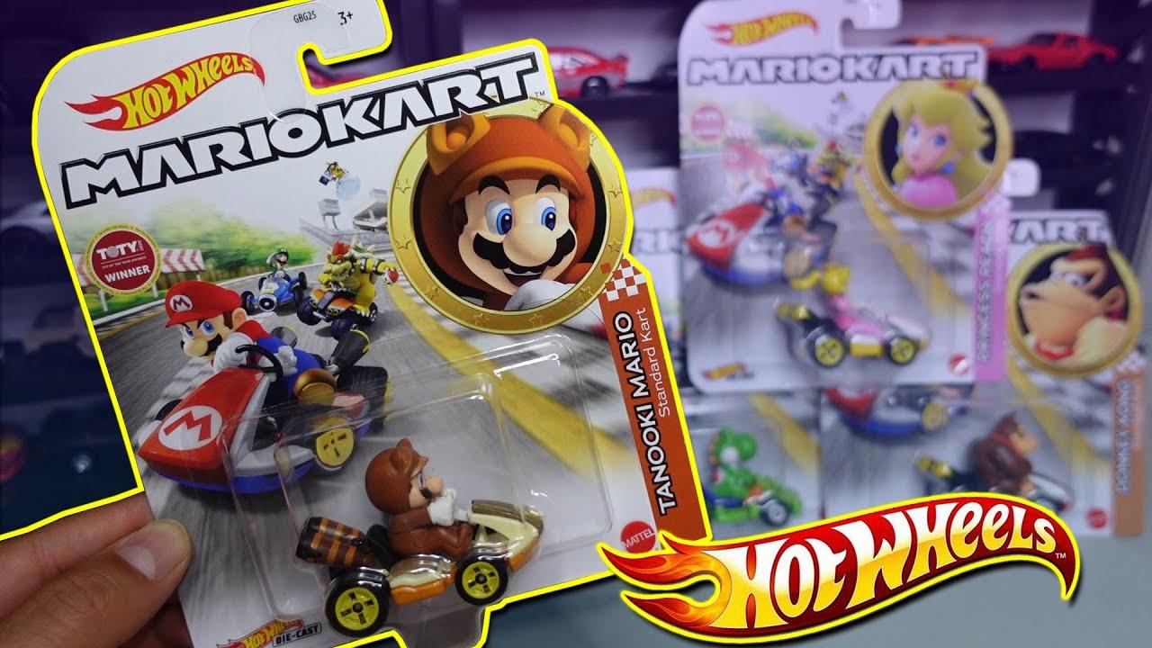 Mis primeros GO KARTS | Coleccion Mariokart Hot Wheels, Mario, Luigi, Princes Peach, Donkey Kong