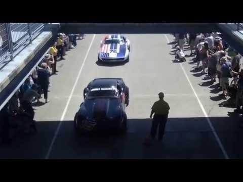 Indianapolis vintage enduro race rollout