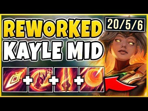 informacje dla ogromny wybór odebrać So the new Kayle is basically the champion Diana could ...
