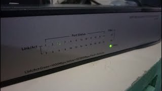 коммутатор HP JH018A