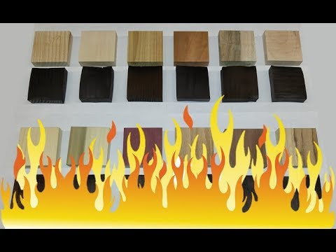 Thermally Modified Wood Experiment - Part 1