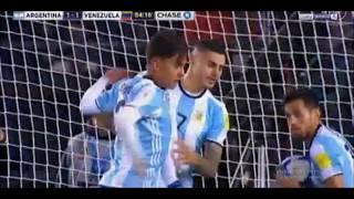 Argentina VS Venezuela 1-1 (Mauro Icardi Goal) 06/09/17