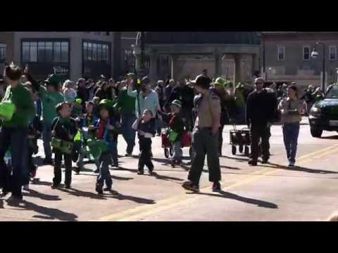 2015 St. Patrick's Day Parade: Downtown St. Charles Partnership: St. Charles, Illinois