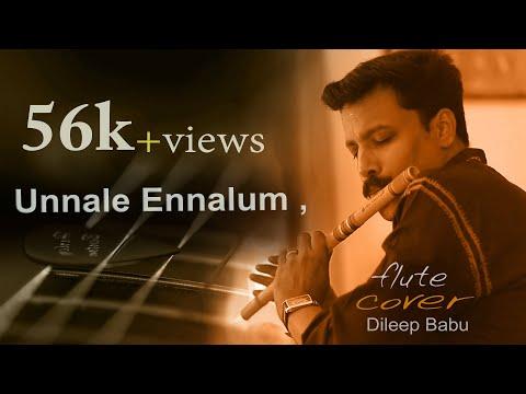 Theri song/En jeevan/Unnale  ennalum/vijay,samantha/Flute cover By , Dileep Babu.B