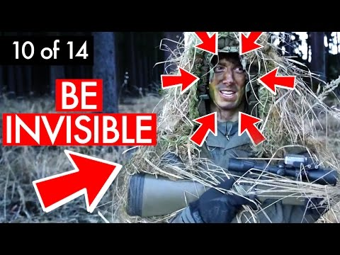 Novritsch' Secret to being Invisible #10 of 14 - Military Sniper Training