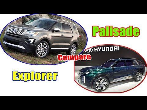 2020 Ford Explorer vs 2020 Hyundai Palisade | Compare | 2020 Ford Explorer vs Hyundai Palisade